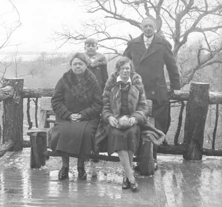 Hauberg family photograph