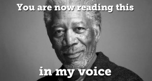 Disclaimer: This whole article must be read in Morgan Freeman's voice. Thank you for your time and drive safely.
