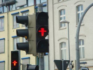 Don't Cross Sign