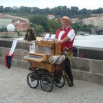 Organ Grinder on the Charles Bridge!