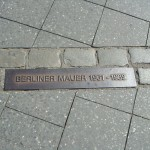 Where the Berlin Wall once stood