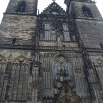 A closer look at the gothic church in Magdeburg