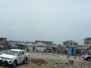 Homes in Old Accra
