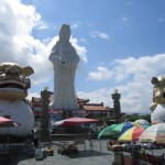 Buddha Statue over Keelung Bay