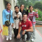 My new friends at CCNU