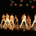 The cultural exchange...This routine reminded me of the Backstreet Boys