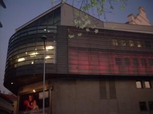 Der Volksoper, where we saw Die Fledermaus